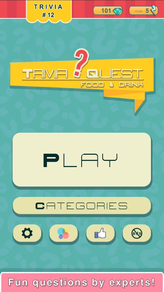 Trivia Quest™ Food & Drink - trivia questions screenshot 3