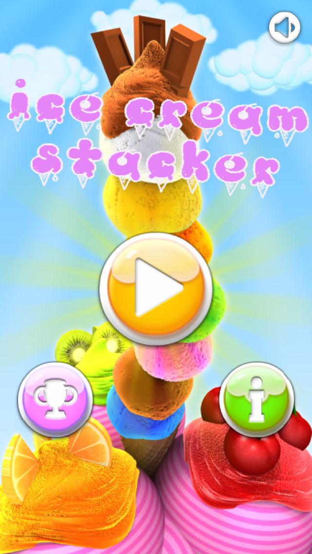 Ice Creams Stacker screenshot 1