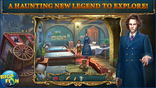 Haunted Legends: The Stone Guest - A Hidden Objects Detective Game (Full) screenshot 1