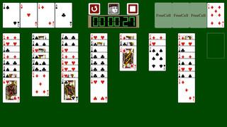 Touch FreeCell FVD screenshot 1