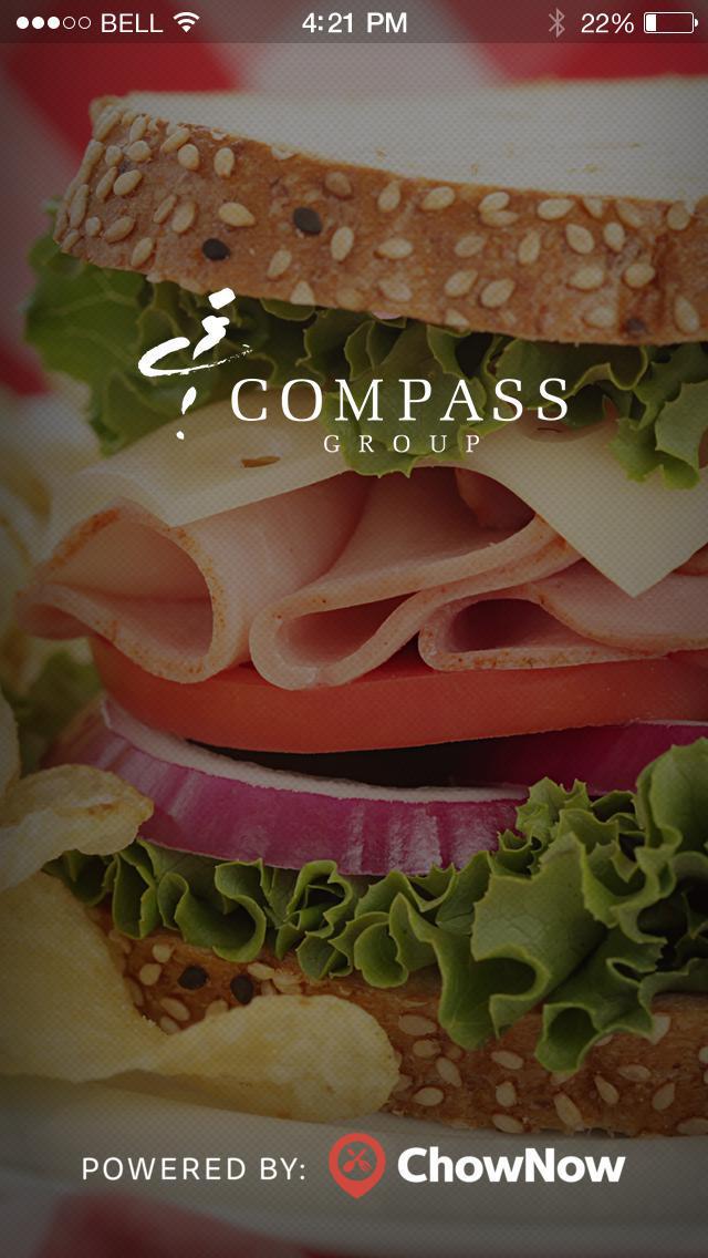 Compass Group Cafe screenshot 1