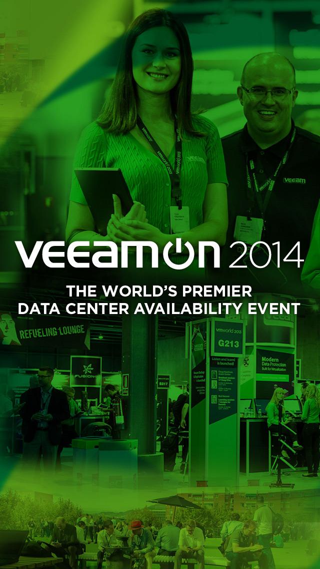 VeeamON 2014 screenshot 1