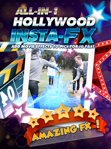 All-in-1 Hollywood Insta-FX (Add Movie Effects Edits to Pics for IG Fast) FREE screenshot 6