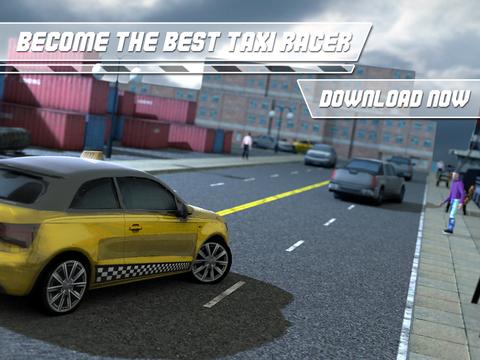 Real Taxi Driver Simulator 3D PRO screenshot 10