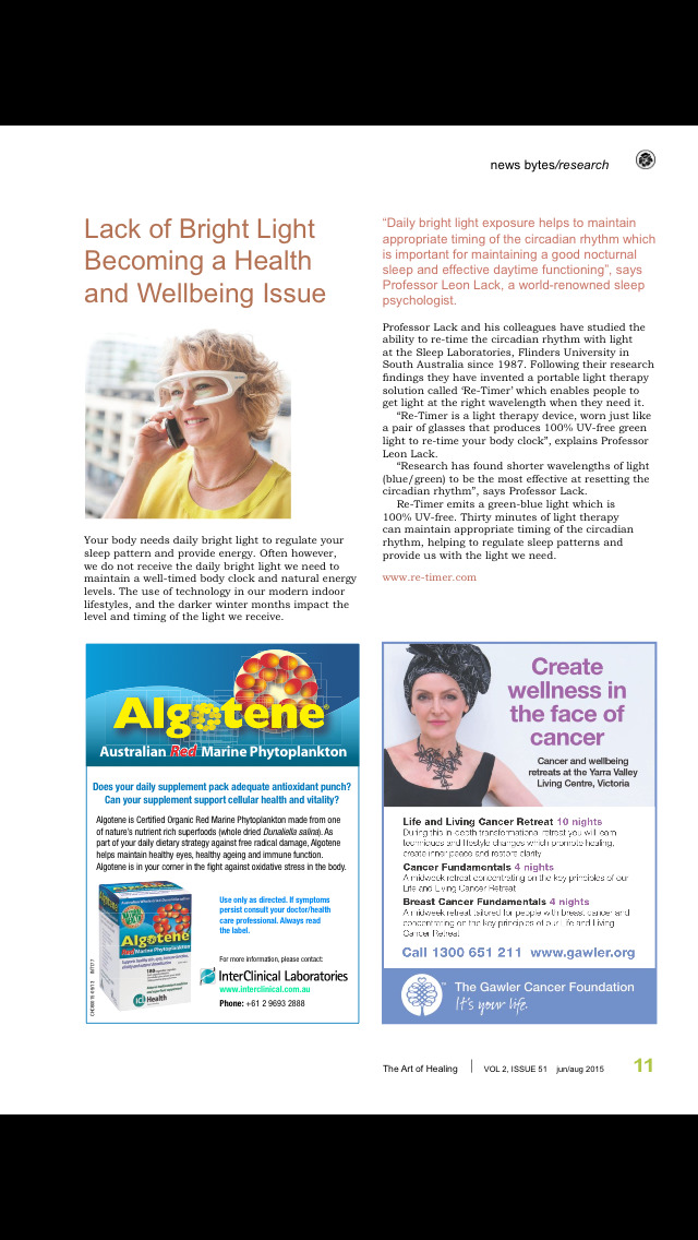 The Art of Healing Magazine screenshot 4