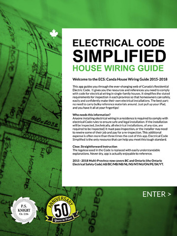 Incredible Electrical Code Simplified Residential Apps 148Apps Wiring 101 Relewellnesstrialsorg