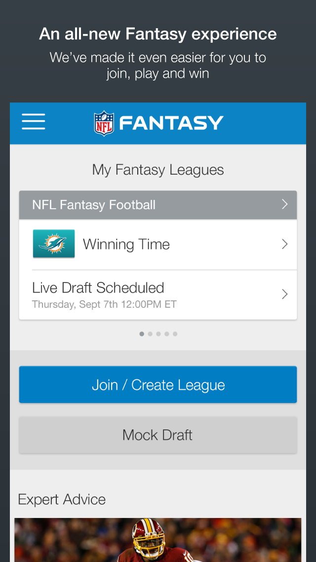 NFL Fantasy Football screenshot 1