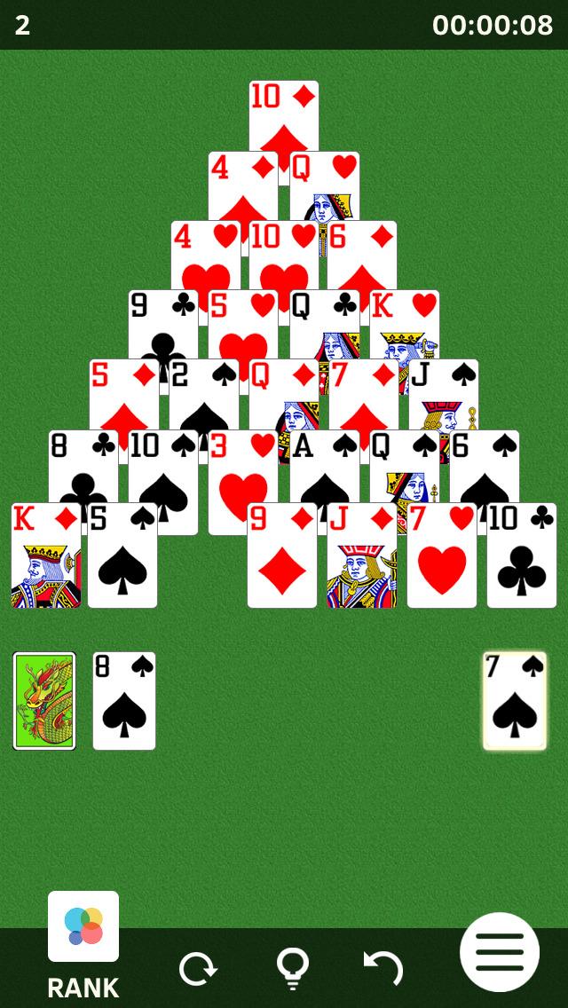 Pyramid Solitaires screenshot 1