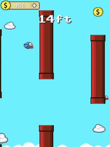 Flappy Hero Fly High screenshot 9