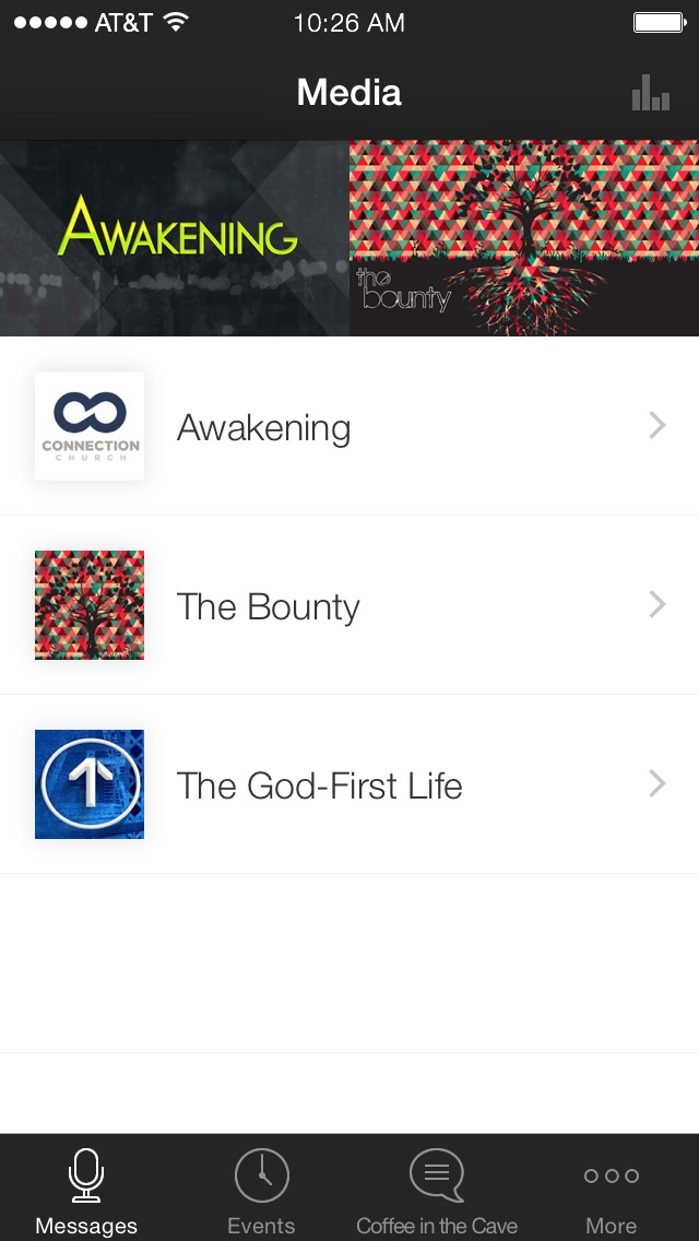 Connection Church App screenshot 1