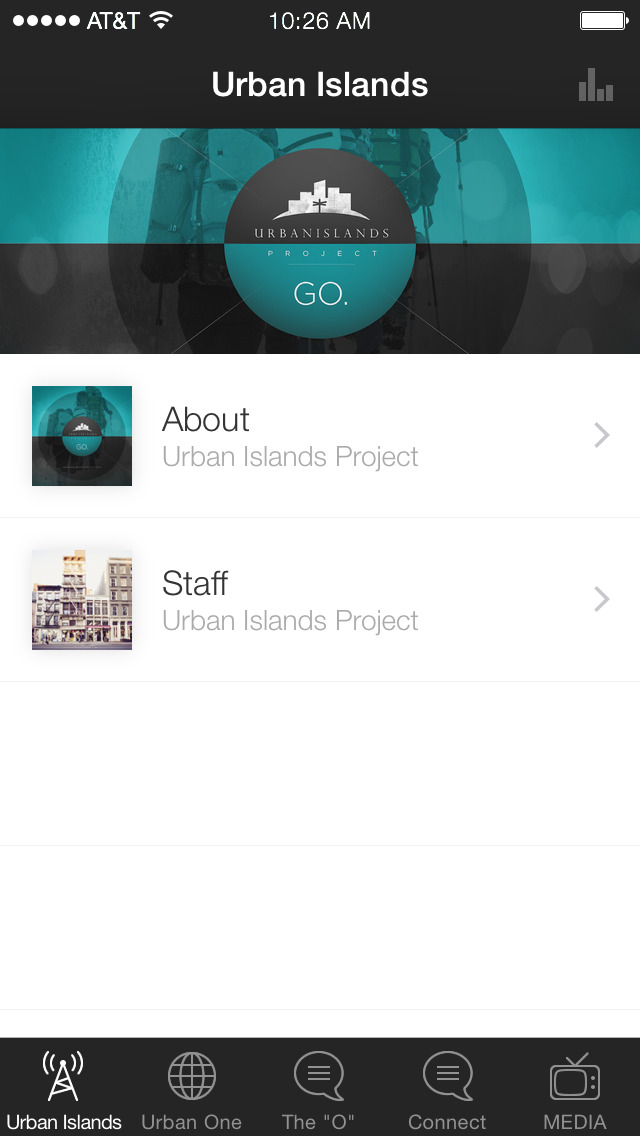 Urban Islands Project screenshot 1