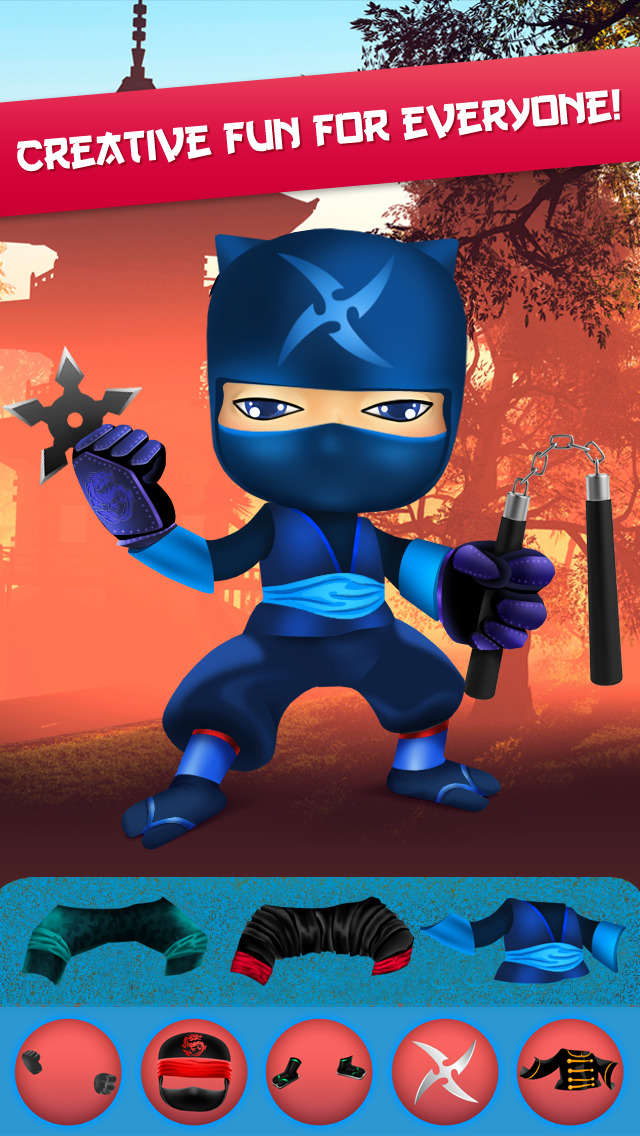 My Epic Ninja Superheroes World Fighter Club Game screenshot 4