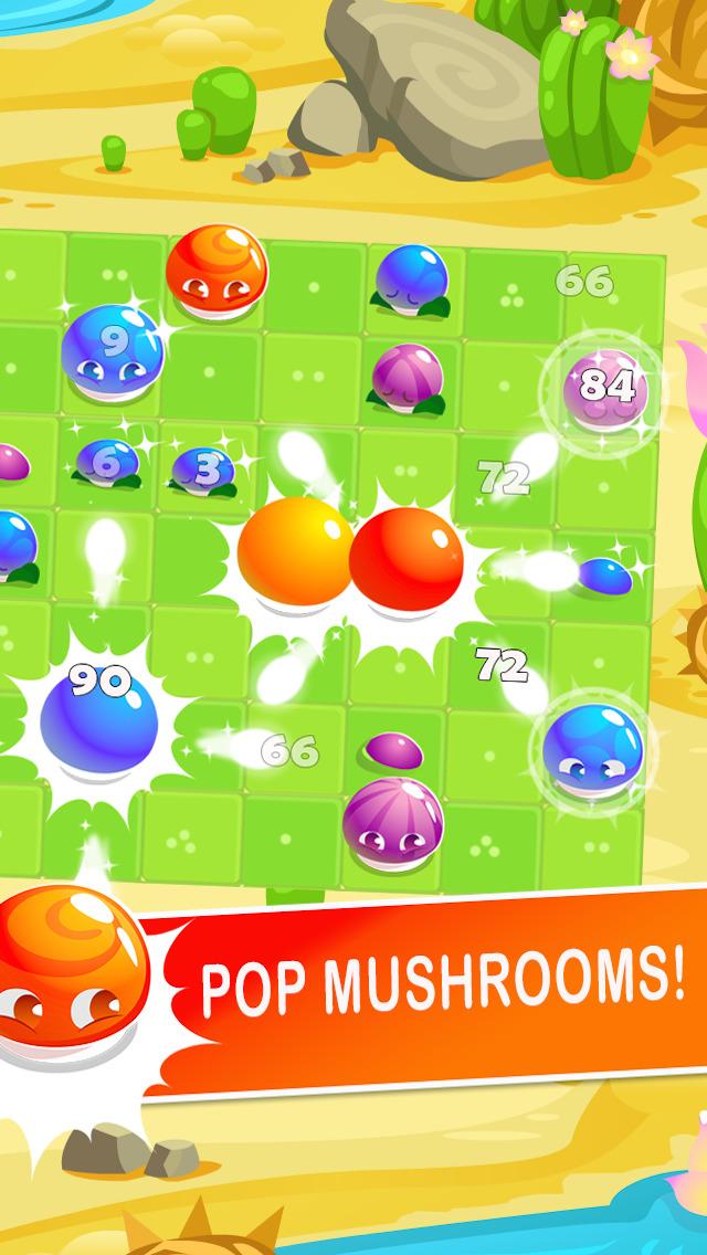 Fireflies: Mushroom Blast! screenshot 2