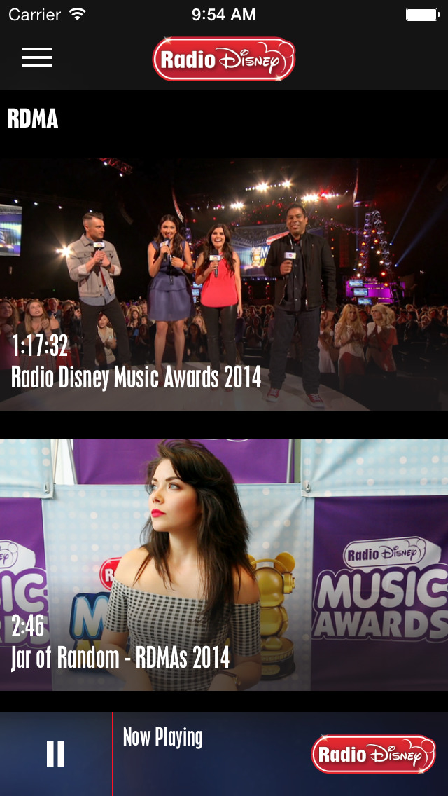 Radio Disney: Watch & Listen screenshot #2