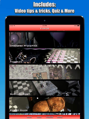 Cheats + Walkthrough for Five Nights at Freddy's 1 & 2 screenshot 5