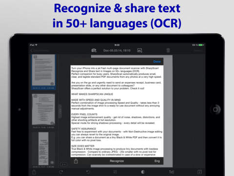 SharpScan Pro: OCR PDF scanner screenshot 7