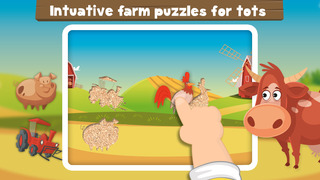 Milo's Mini Games for Tots, Toddlers and Kids of age 3-6 - Barn and Farm Animals Cartoon screenshot 5