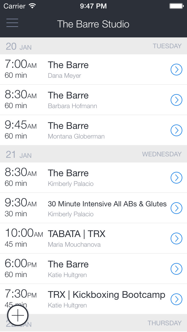The Barre Studio Delray Beach screenshot 1