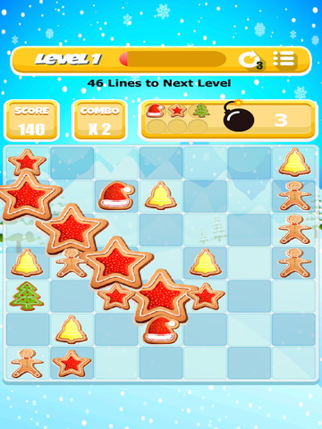 Christmas Cookie Match Game screenshot 8
