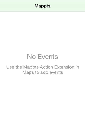 Mappts - náhled
