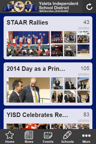 YISD Mobile - náhled