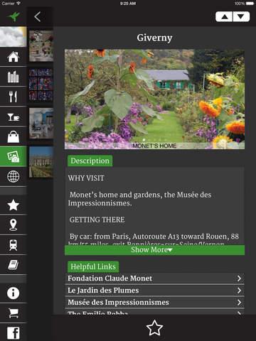 Andrew Harper's Paris Guide screenshot 5