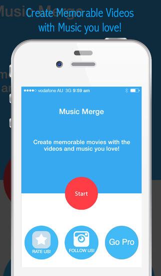 Music Merge – Unique Video Editing App, Free to merge videos