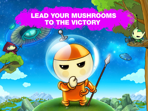Mushroom Wars: Space! screenshot 10