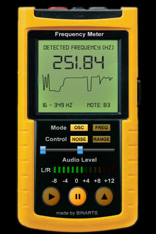 Frequency Meter PRO - Professional tool, Scans fre - náhled