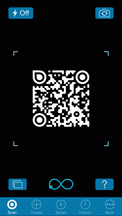 iphone screenshot generator optiscan qr code reader on the app 2558