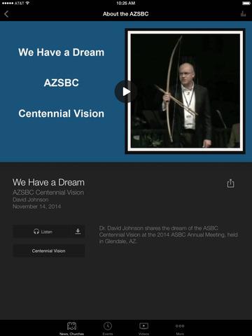 Arizona Southern Baptists screenshot 6
