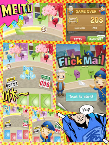 Flick Mail - Postman or Courier screenshot 7