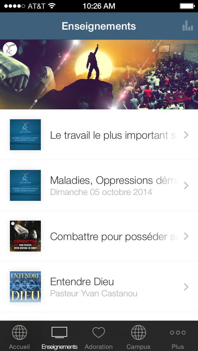 Impact Centre Chrétien screenshot 1