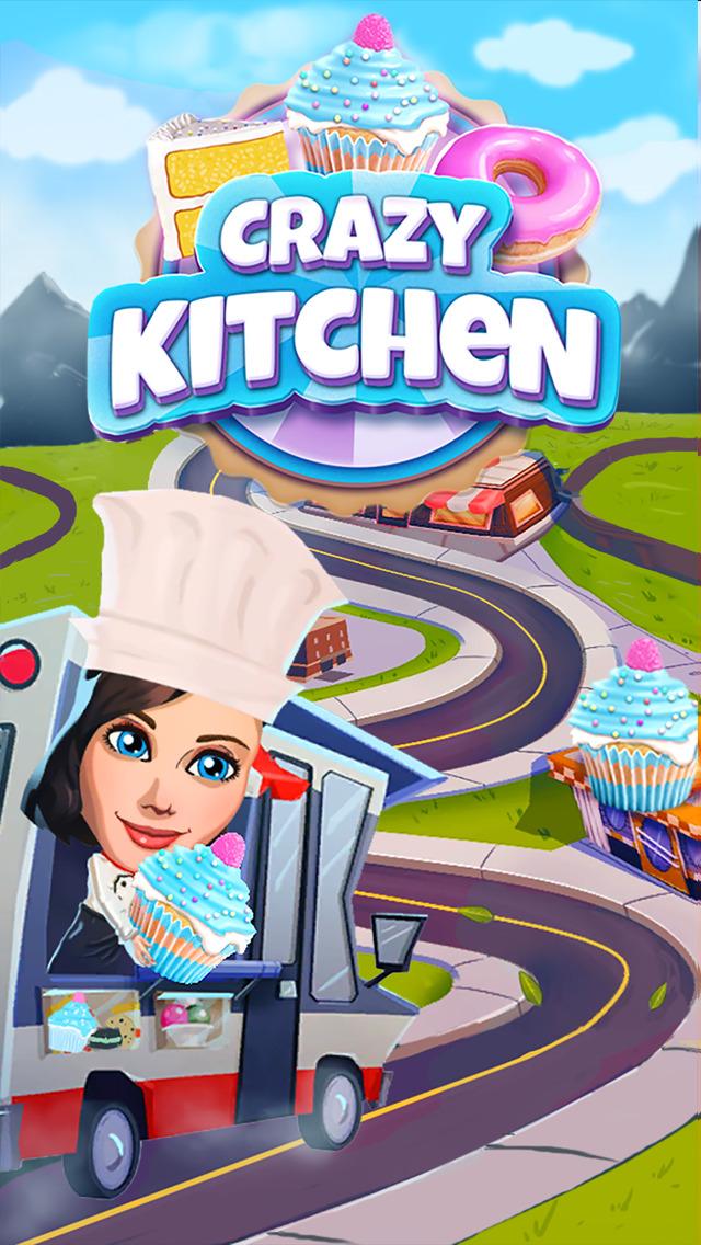 Crazy Kitchen: Match 3 Puzzles screenshot 5