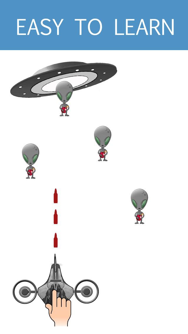Space Combat - Aliens screenshot 1