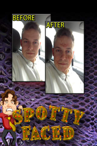 SpottyFaced - The Spotty Freckle Geek Booth - náhled