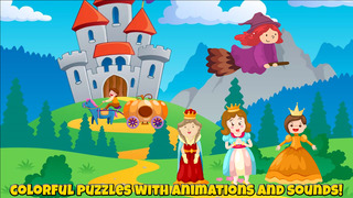 Fairytale Puzzles For Kids screenshot 2