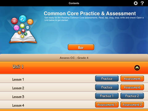 HMH English Learner Assessment Practice Grade 4 screenshot 1