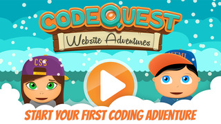 CodeQuest - Learn how to Code on a Magical Quest with Games screenshot 1