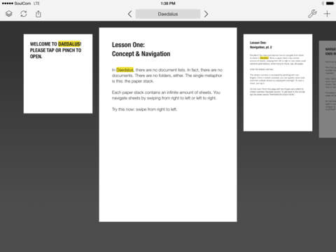 Daedalus Touch – Text Editor for iCloud screenshot 7