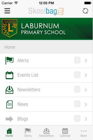 Laburnum Primary School - Skoolbag - náhled
