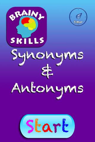 Brainy Skills Synonyms and Antonyms - náhled