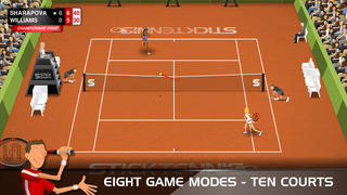 Stick Tennis screenshot #3