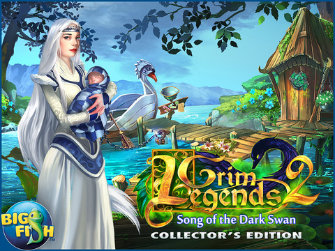 Grim Legends 2: Song of the Dark Swan HD - A Magical Hidden Object Game screenshot 5