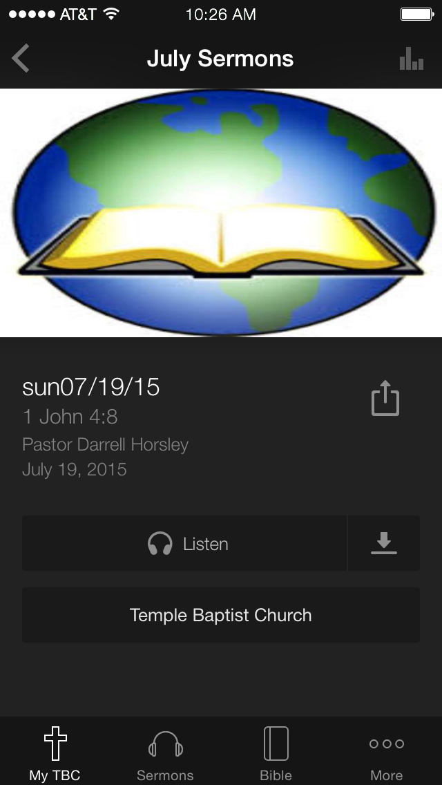 Temple Baptist Church - Ohio screenshot 3
