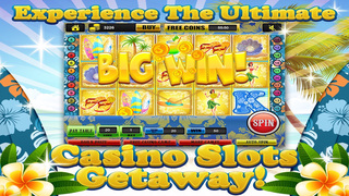 Ace Beach Vacation Slots Casino - Big Island Extreme Jackpot Slot Machine Games Free screenshot 2