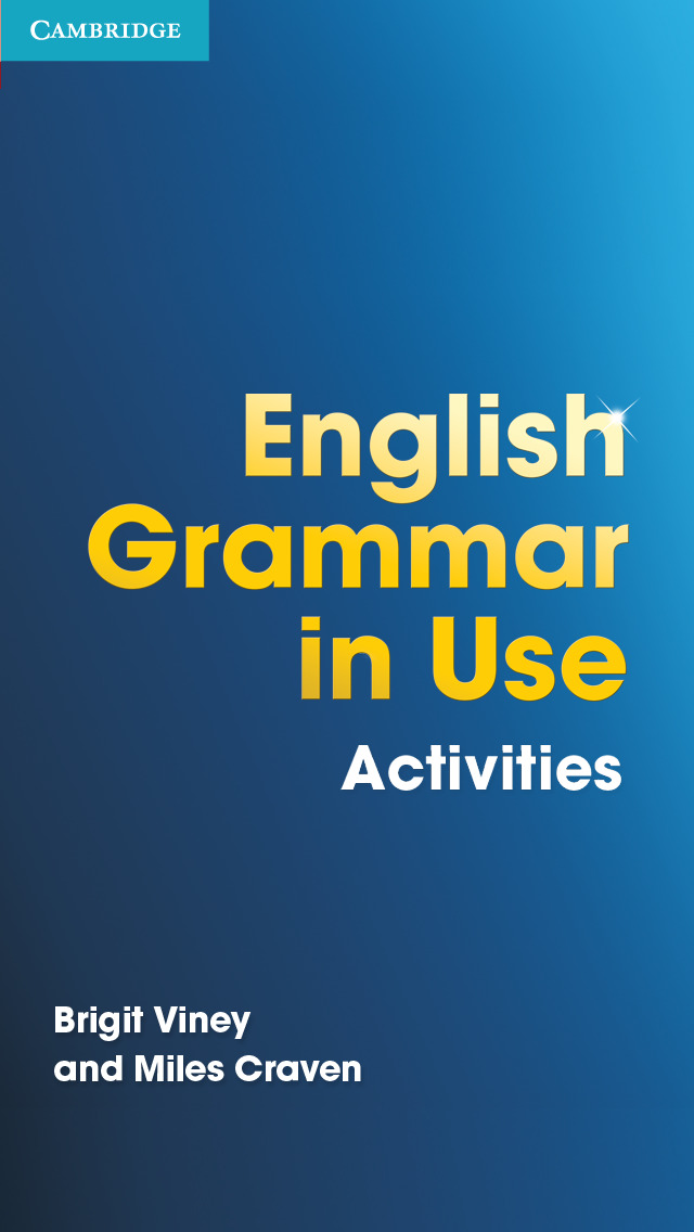 English Grammar in Use Activities screenshot 1