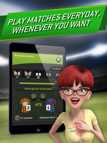 Striker Manager 2: Lead your Football Team screenshot 10