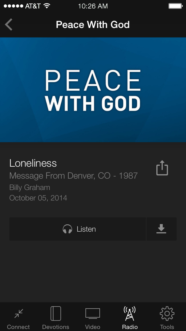 Billy Graham Evangelistic Assn screenshot 3