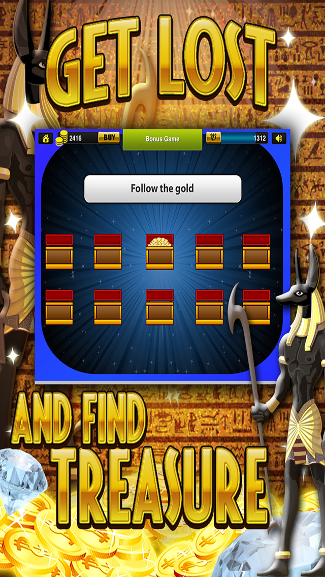 Ace Slots Pharaoh's Gold - Jackpot Kingdom Journey Slot Machine Games Free screenshot 3